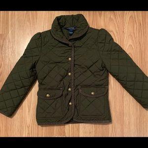 Ralph Lauren olive jacket 5t